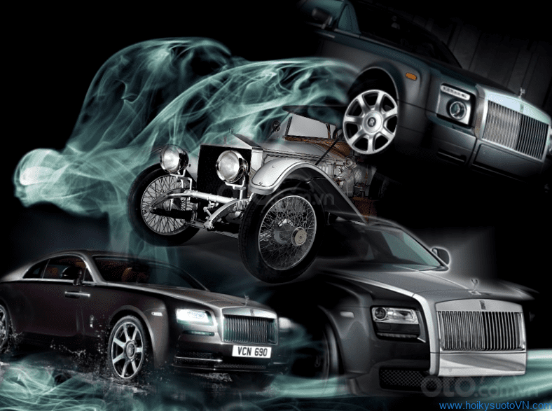 Bộ 3 xe Rolls-Royce