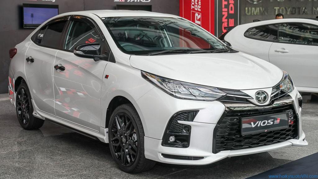 Diện kiến Toyota VIOS GR-S phong cách xe đua,