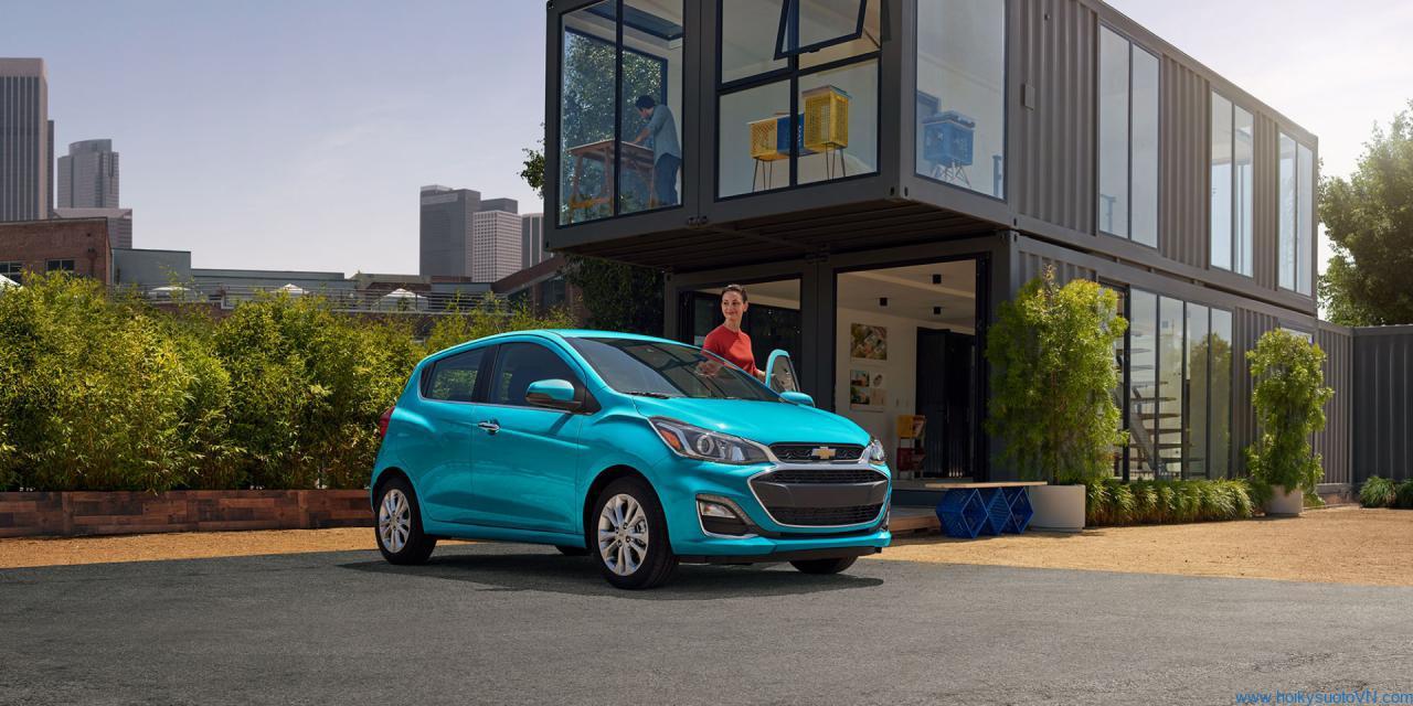 Chevrolet Spark 2021 sử dùng động cơ giống VinFast Fadil