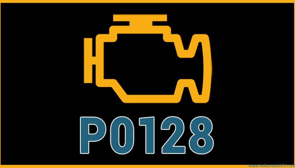 Phân tích mã lỗi P0128 - Coolant Temperature Below Thermostat Regulating Temperature.